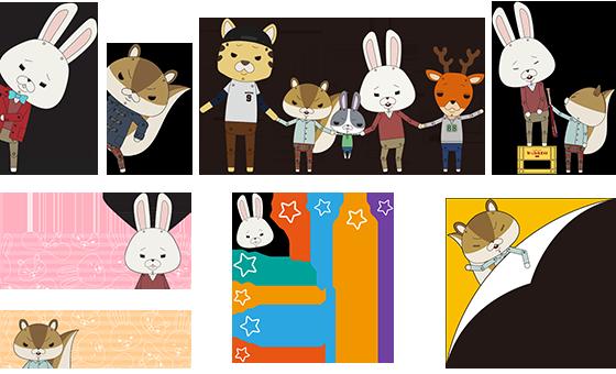 紙 兎 ロペ キャラクター